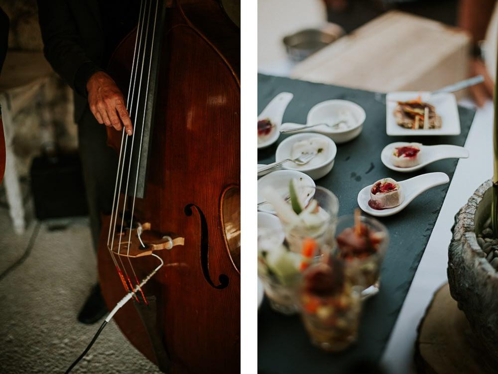 cocktail mariage domaine Sarson Drome Provence
