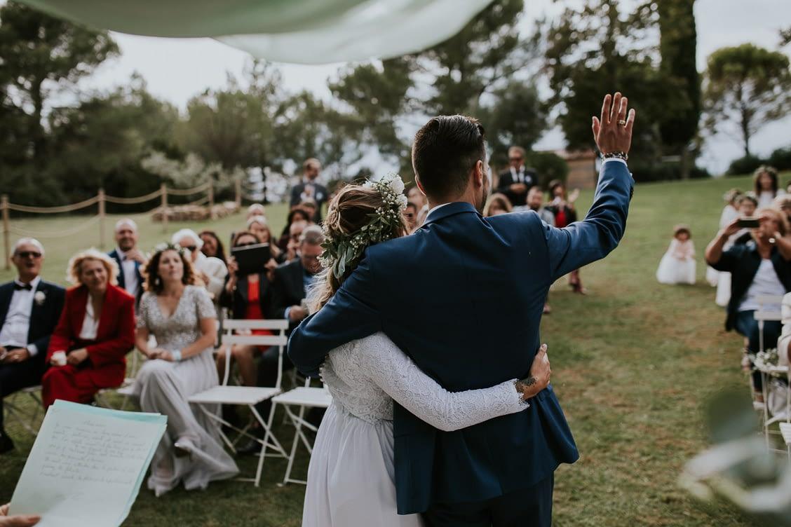 ceremonie laique domaine pommé trets mariage