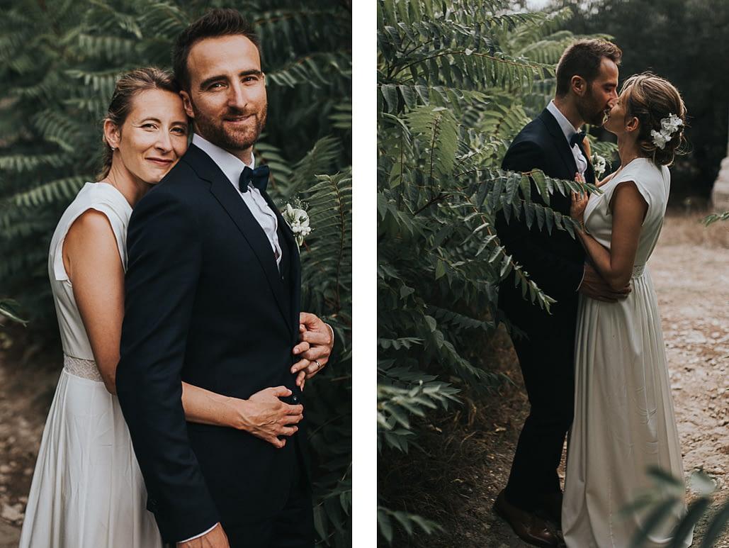 couple mariage alpilles