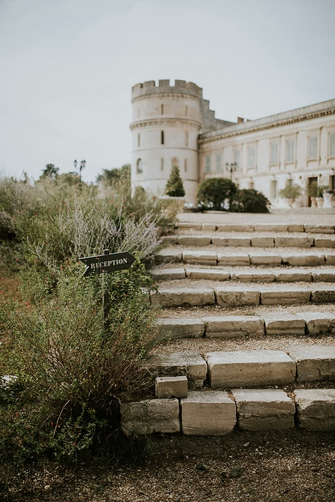 chateau de Barbegal maraige reception lieu