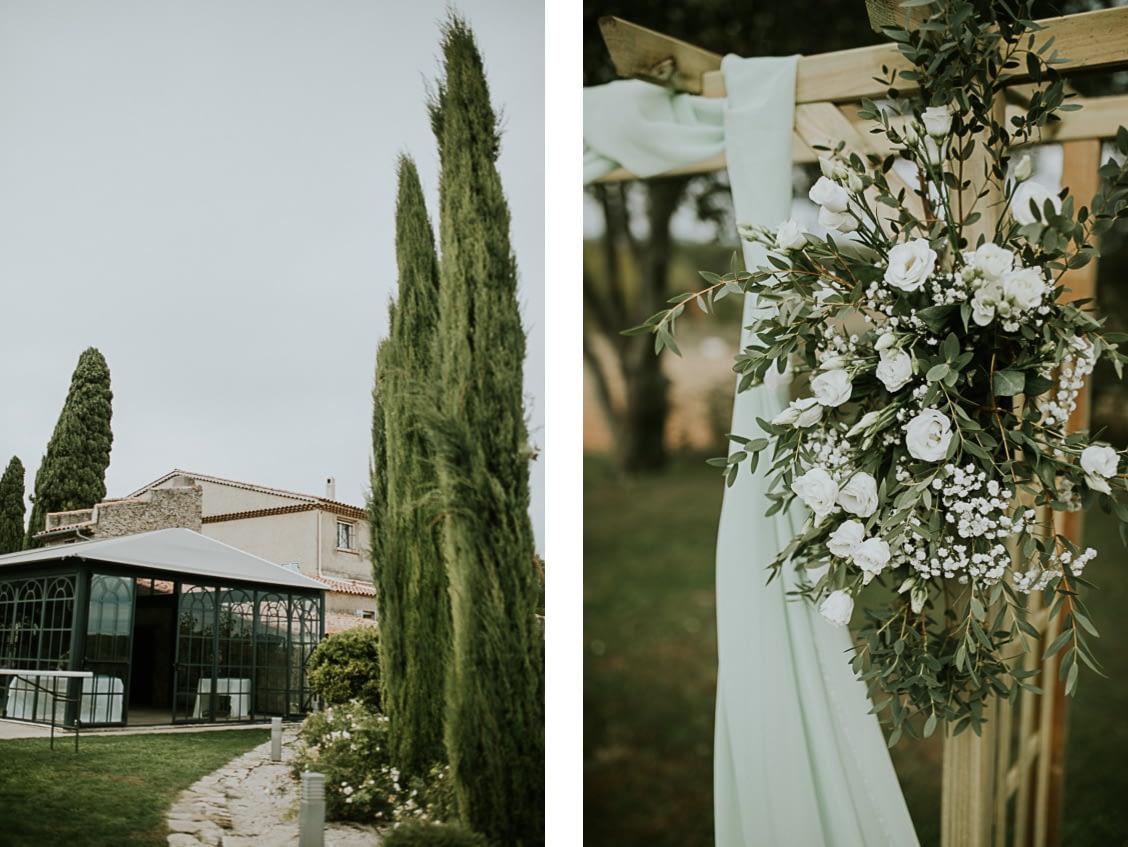 domaine de la pommé trets mariage provence
