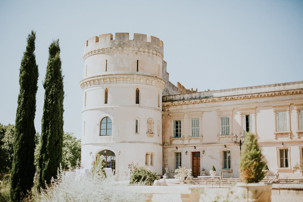 chateau de Barbegal mariage photographe