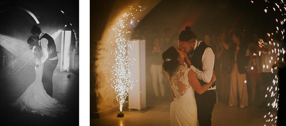 ouverture bal mariés danse photo