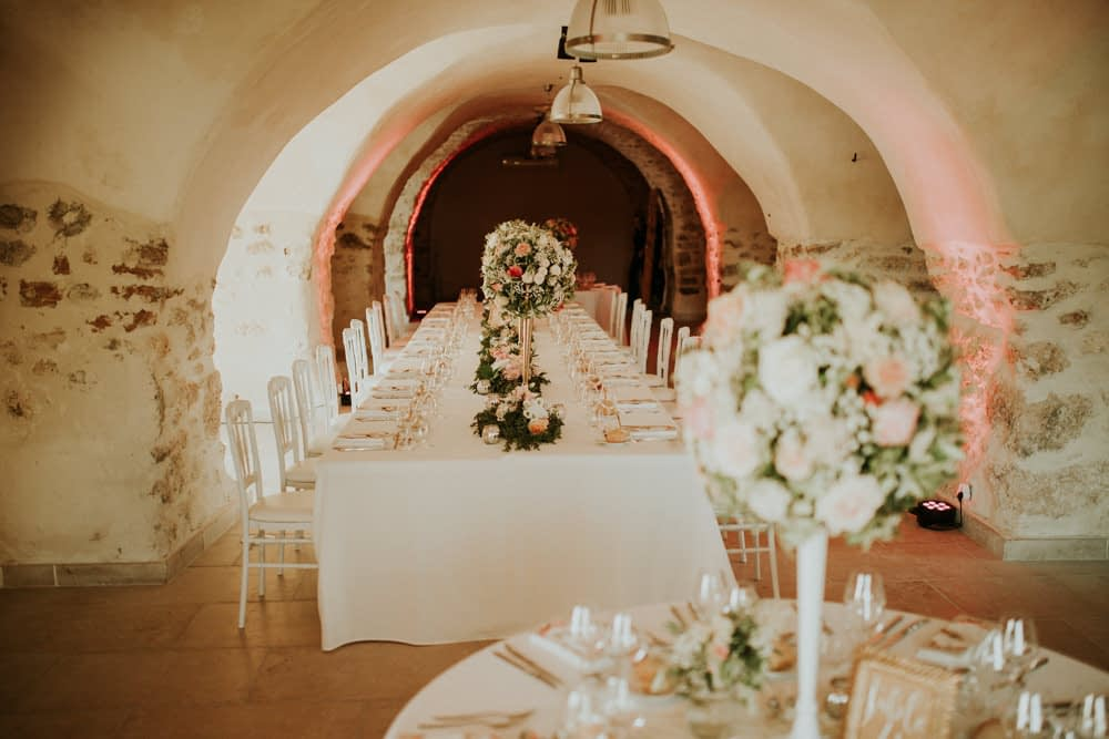 decoration table repas mariage