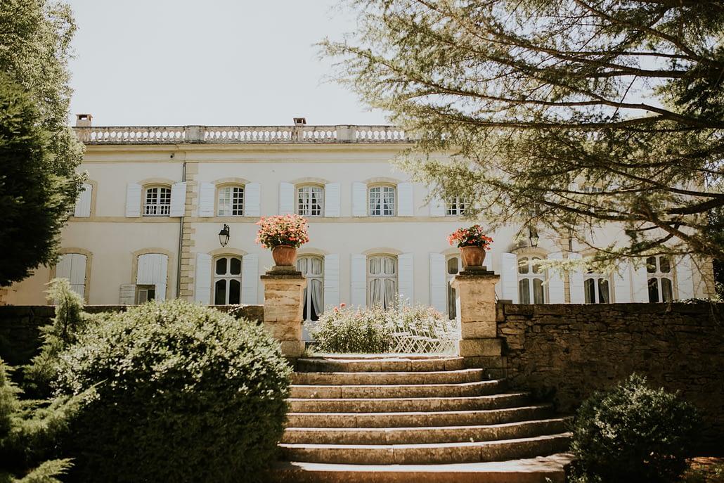 chateau de caseneuve provence mariage reception lieu