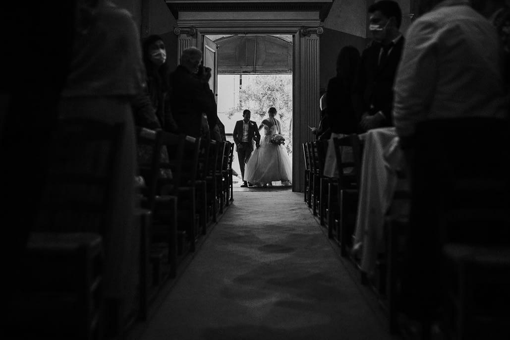 entrée église mariage photographe