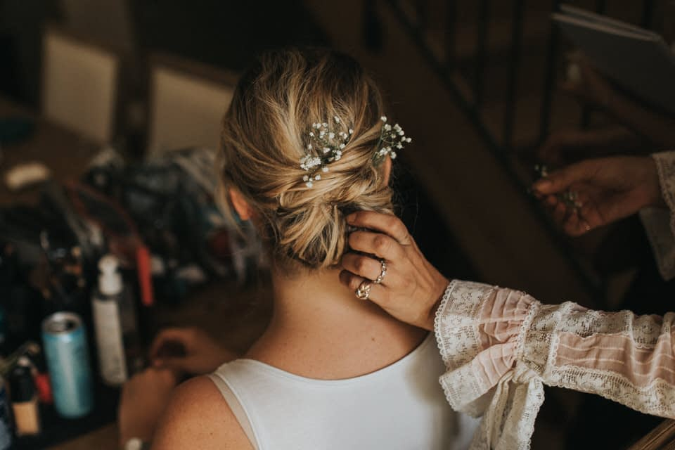 preparatifs mariée photographe luberon france